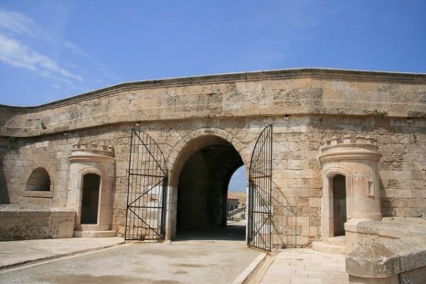 Isabella II fortress, Menorca