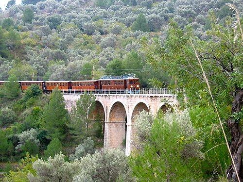 The train to Soller, Mallorca