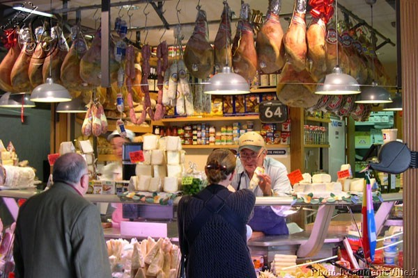 Food Market in Florence, Italy
