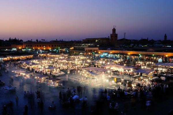 Jema el-Fna square