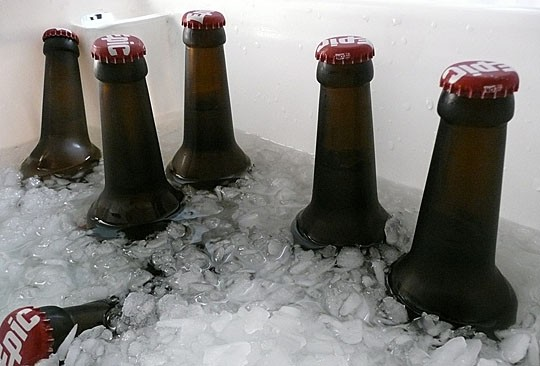 beer ice cold
