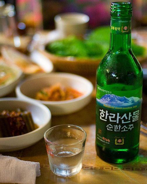 national drink soju