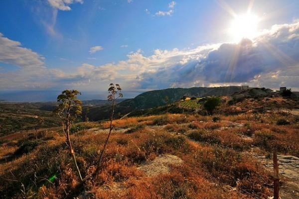 mountainous Cyprus