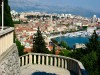A view from Marjan hill, Split