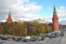Moscow City Tour by car. Moscow. Russia