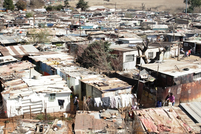 Image result for south african squatter camps
