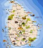 Sri-Lanka Tourist Map, Colombo, Sri-Lanka Tourist Map
