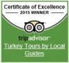 Tripadvisor badge we earned., Istanbul, Turkey