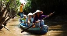 Cu Chi Tunnels & Mekong Delta. Ho Chi Minh. Vietnam