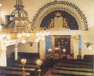 Finland  Inside of synagogu