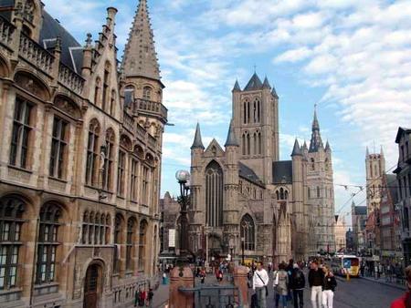 Joyce. Ghent-Bridge