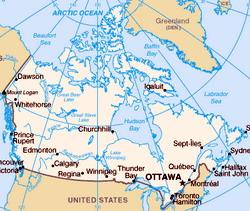 capital cities canada