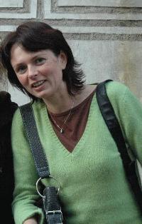 Karolina Kortusova - our personal guide in Cesky Krumlov