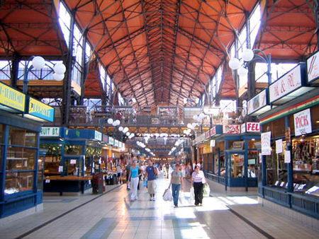 Torok Gabriella. Covered Market Hall