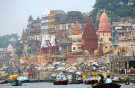 India Tour. Babasteve View of Varanasi