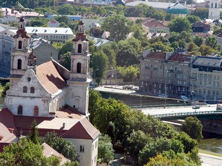 Marius. Beautiful view of Vilnius