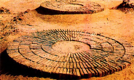 Pamir Tours. Mud Brick Fortification