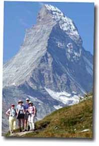 Jungfrau and Matterhorn Tour. Matter Horn