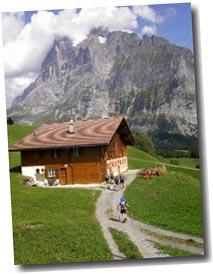 Jungfrau and Matterhorn Tour. Wetter Horn